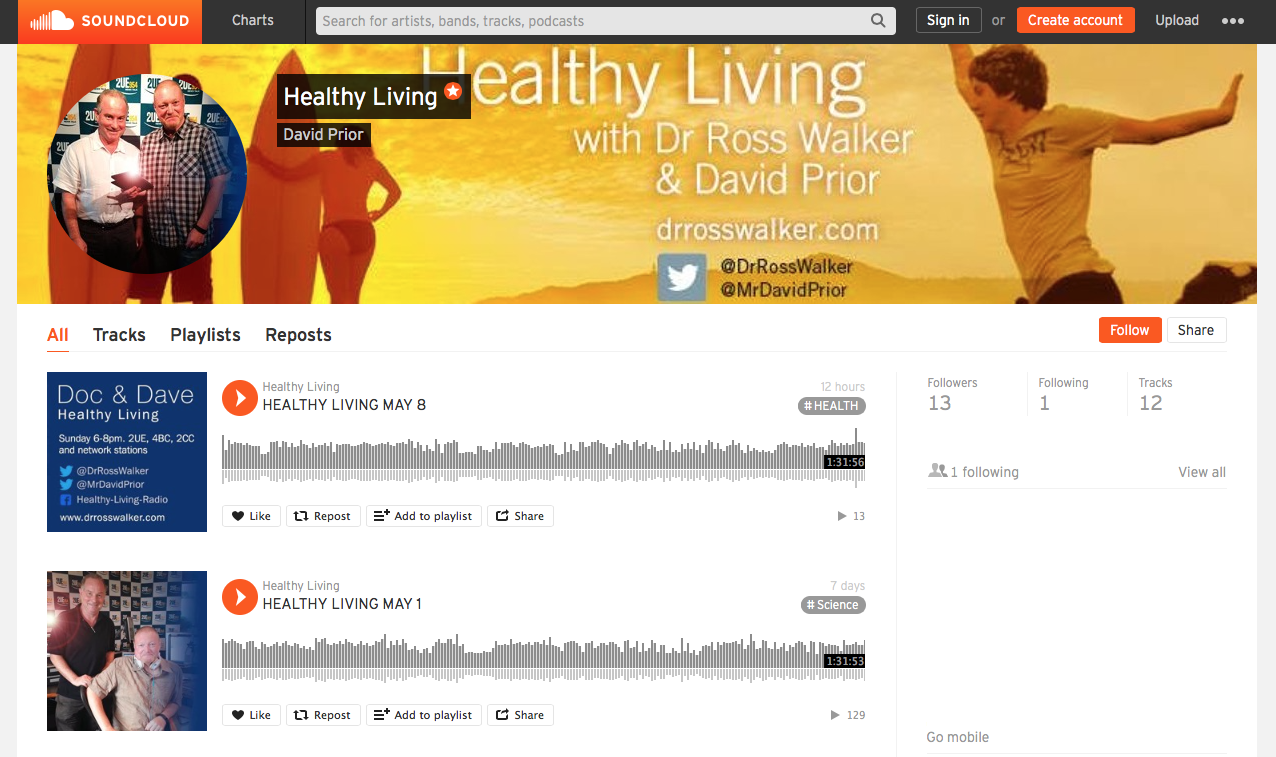 Healthy Living with Ross Walker